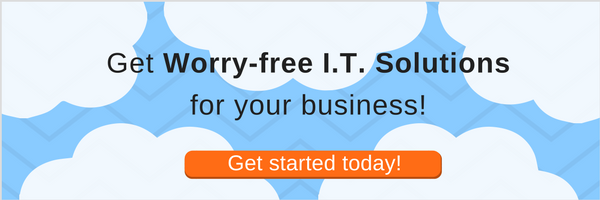 Get worry-free I.T. solutions for your business!